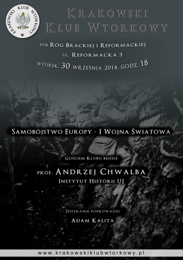 Samobójstwo Europy - I Wojna Światowa