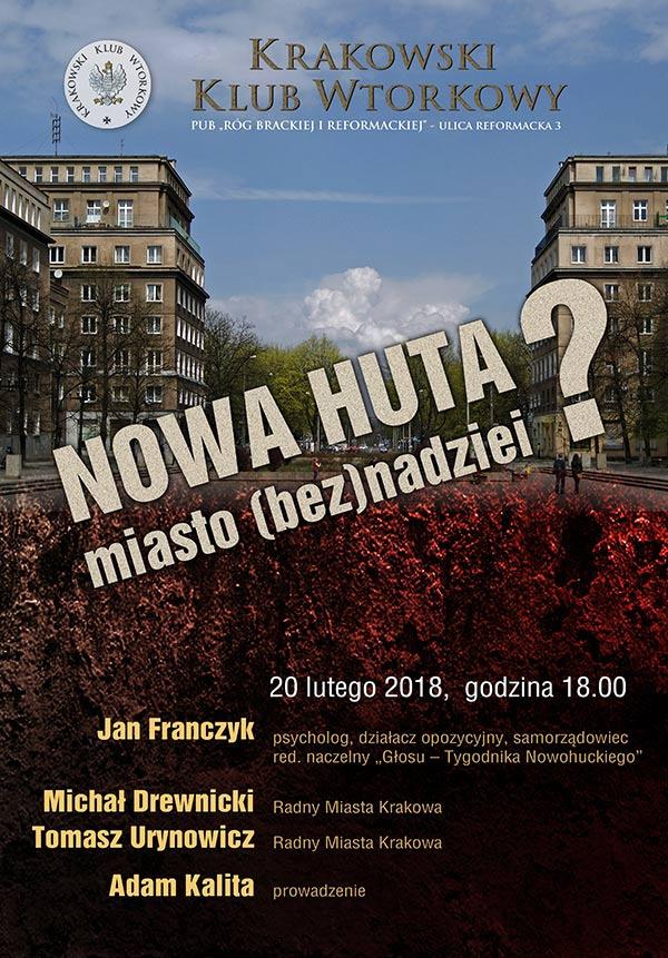 Nowa Huta - miasto (bez)nadziei?