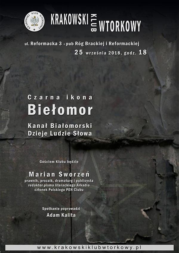 Czarna ikona - Biełomor. Kanał Białomorski. Dzieje. Ludzie. Słowa.