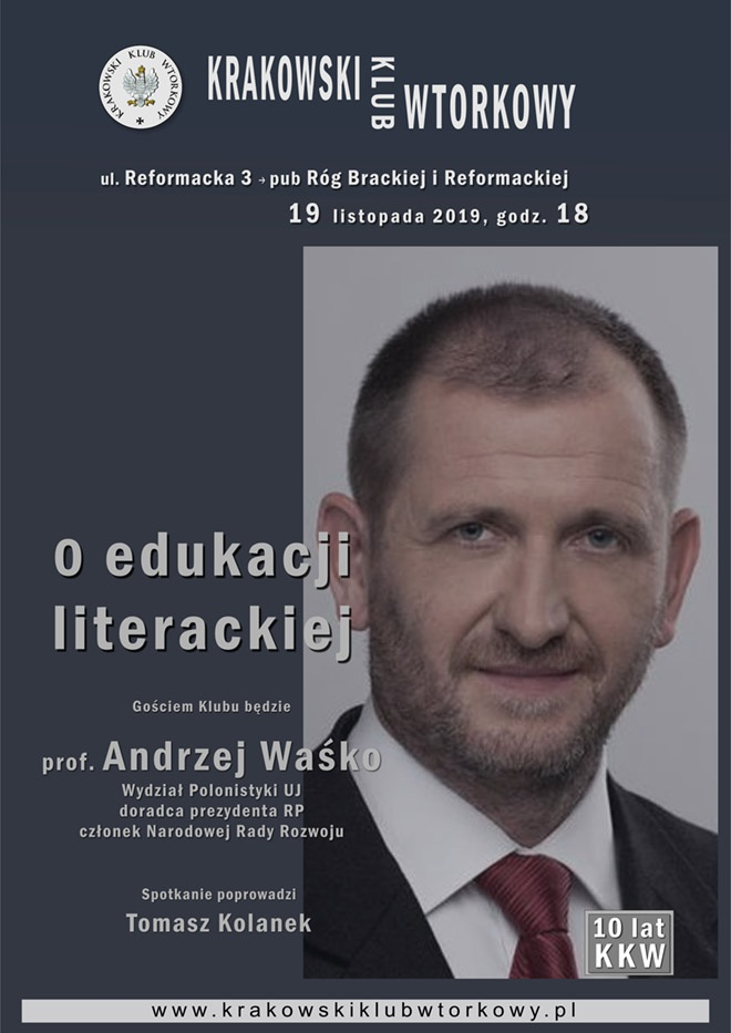 O edukacji literackiej