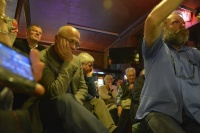 Czas na zmianę. (w ramach cyklu Debata Krakowska)  - marek lasota w krakowskim klubie wtorkowym fot. paweł zechenter12